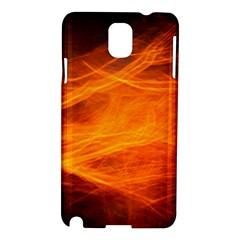 Orange Wonder Samsung Galaxy Note 3 N9005 Hardshell Case by timelessartoncanvas