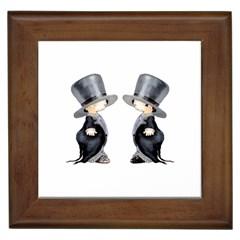 Little Groom and Groom Framed Tiles by Weddings