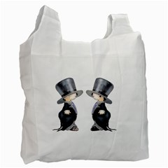 Little Groom and Groom Recycle Bag (Two Side)  by Weddings
