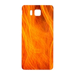 Orange Wonder 2 Samsung Galaxy Alpha Hardshell Back Case by timelessartoncanvas