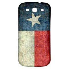 Texas Flag Vintage Retro Samsung Galaxy S3 S Iii Classic Hardshell Back Case by bruzer