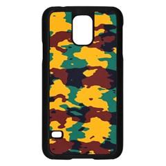 Camo Texturesamsung Galaxy S5 Case (black) by LalyLauraFLM