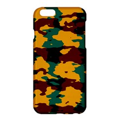 Camo Texture			apple Iphone 6 Plus/6s Plus Hardshell Case by LalyLauraFLM