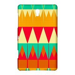 Triangles And Other Retro Colors Shapes samsung Galaxy Tab S (8 4 ) Hardshell Case by LalyLauraFLM