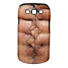 Stitches By Ignatius Rake Samsung Galaxy S III Classic Hardshell Case (PC+Silicone) by RakeClag