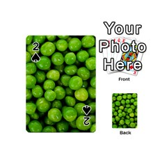 Peas Rule By Ignatius Rake Playing Cards 54 (Mini)  by RakeClag