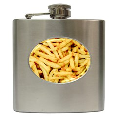 Chips By Sandi Hip Flask (6 oz) by RakeClag