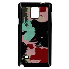 Retro Colors Texture samsung Galaxy Note 4 Case (black) by LalyLauraFLM