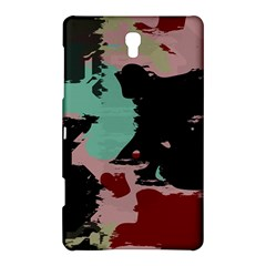 Retro Colors Texture samsung Galaxy Tab S (8 4 ) Hardshell Case by LalyLauraFLM
