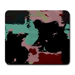 Retro Colors Texture 			large Mousepad by LalyLauraFLM
