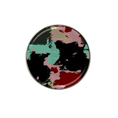 Retro Colors Texture hat Clip Ball Marker by LalyLauraFLM