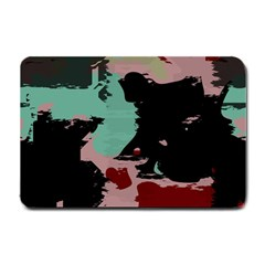 Retro Colors Texture 			small Doormat by LalyLauraFLM