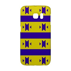 Tribal Shapes And Stripes samsung Galaxy S6 Edge Hardshell Case by LalyLauraFLM