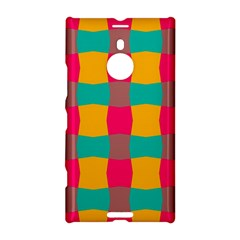 Distorted Shapes In Retro Colors Pattern 			nokia Lumia 1520 Hardshell Case by LalyLauraFLM