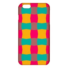 Distorted Shapes In Retro Colors Pattern 			iphone 6 Plus/6s Plus Tpu Case by LalyLauraFLM