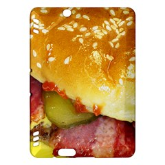 Bacon Burger By Sandi Kindle Fire HDX Hardshell Case by RakeClag
