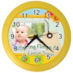 easter - Color Wall Clock