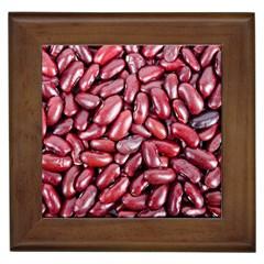 Kidney Beans By Sandi Framed Tiles by RakeClag