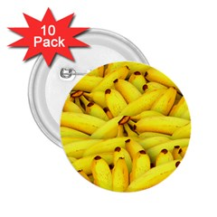 Bananas By Sandi 2.25  Buttons (10 pack)  by RakeClag