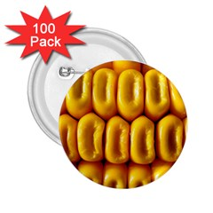 Sweet Corn By Sandi 2.25  Buttons (100 pack)  by RakeClag