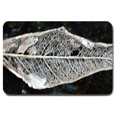 Modern Leaf Large Doormat  by timelessartoncanvas