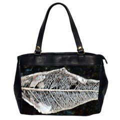 Modern Leaf Office Handbags (2 Sides)  by timelessartoncanvas