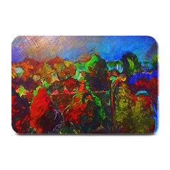 Chicago Park Painting Plate Mats by bloomingvinedesign