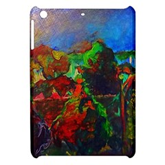 Chicago Park Painting Apple Ipad Mini Hardshell Case by bloomingvinedesign