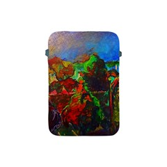 Chicago Park Painting Apple Ipad Mini Protective Soft Cases by bloomingvinedesign