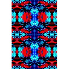 Red Black Blue Art Pattern Abstract 5 5  X 8 5  Notebooks by Costasonlineshop
