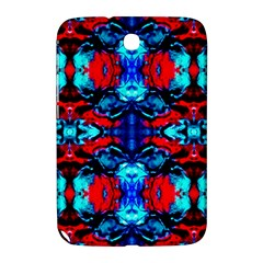 Red Black Blue Art Pattern Abstract Samsung Galaxy Note 8 0 N5100 Hardshell Case  by Costasonlineshop