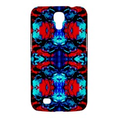 Red Black Blue Art Pattern Abstract Samsung Galaxy Mega 6 3  I9200 Hardshell Case by Costasonlineshop