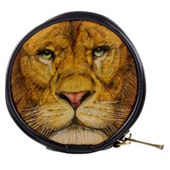 Regal Lion Drawing Mini Makeup Bags by KentChua