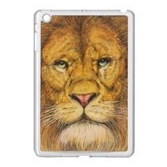 Regal Lion Drawing Apple Ipad Mini Case (white) by KentChua