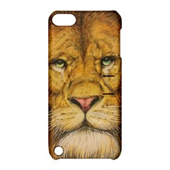 Regal Lion Drawing Apple Ipod Touch 5 Hardshell Case With Stand by KentChua
