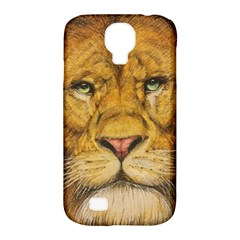 Regal Lion Drawing Samsung Galaxy S4 Classic Hardshell Case (pc+silicone)