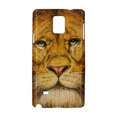 Regal Lion Drawing Samsung Galaxy Note 4 Hardshell Case