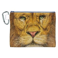 Regal Lion Drawing Canvas Cosmetic Bag (xxl)  by KentChua