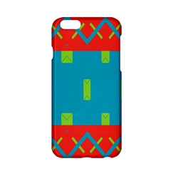 Chevrons And Rectangles 			apple Iphone 6/6s Hardshell Case by LalyLauraFLM