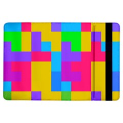 Colorful Tetris Shapes 			apple Ipad Air Flip Case by LalyLauraFLM