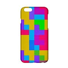 Colorful Tetris Shapes apple Iphone 6/6s Hardshell Case by LalyLauraFLM