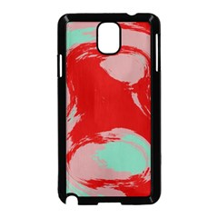 Red Pink Green Texture 			samsung Galaxy Note 3 Neo Hardshell Case (black) by LalyLauraFLM