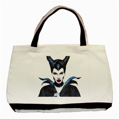 Maleficent Drawing Basic Tote Bag  by KentChua