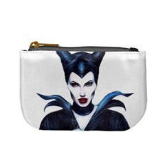 Maleficent Drawing Mini Coin Purses by KentChua