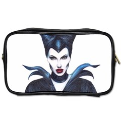 Maleficent Drawing Toiletries Bags by KentChua