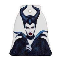 Maleficent Drawing Bell Ornament (2 Sides)