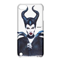Maleficent Drawing Apple Ipod Touch 5 Hardshell Case With Stand by KentChua
