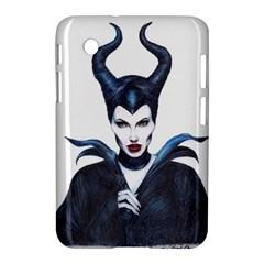 Maleficent Drawing Samsung Galaxy Tab 2 (7 ) P3100 Hardshell Case  by KentChua