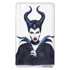 Maleficent Drawing Samsung Galaxy Tab Pro 8 4 Hardshell Case by KentChua
