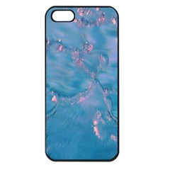 Abstract Waters With Hints Of Pink Apple Iphone 5 Seamless Case (black) by timelessartoncanvas